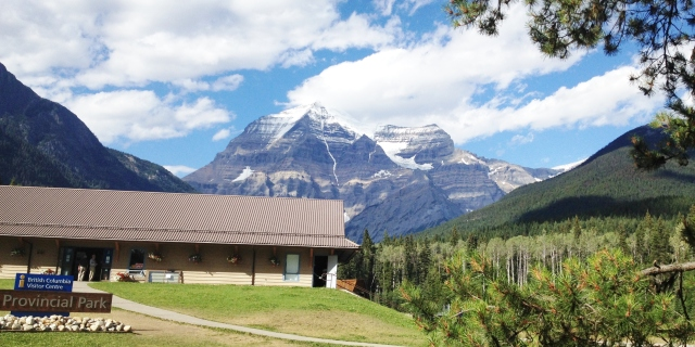 Mt Robson, the beautiful
