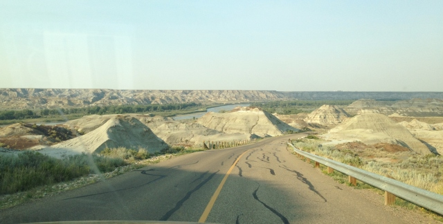 Driving down through 100 million years of history