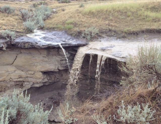 Instant mudfall