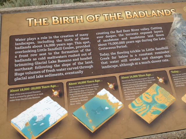 Birth of the Badlands ...  The text is below if you can't read it here