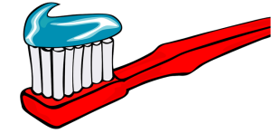 Not actual size, or an actual toothbrush